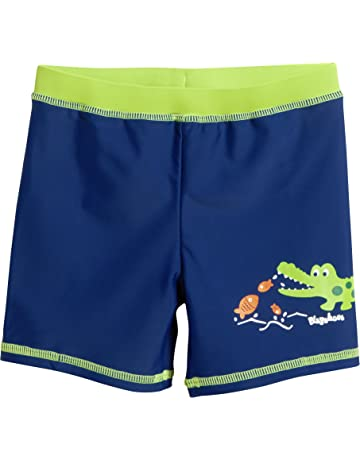DINO WORLD Disney Jungen Badeshorts dunkelblau Badehose