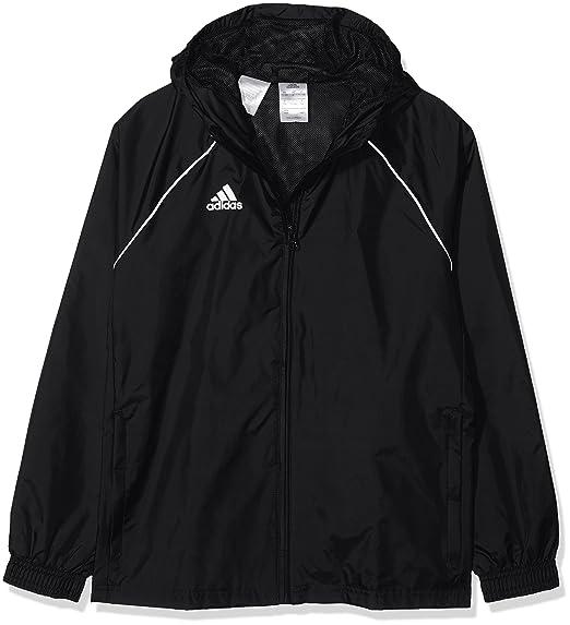 adidas Core18 Rain Jacket, Giacca Sportiva Unisex Bambini