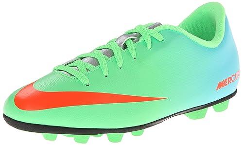 Nike - MERCURIAL VORTEX FGR - Coleur  Azul-Naranja-Verde - Taille  37.5   Amazon.es  Zapatos y complementos ebb8ef19755ef