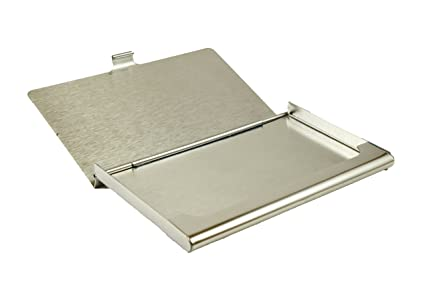 Amazon best start professional business card holder classy best start professional business card holder classy business card case stainless steel keeps cards in perfect colourmoves
