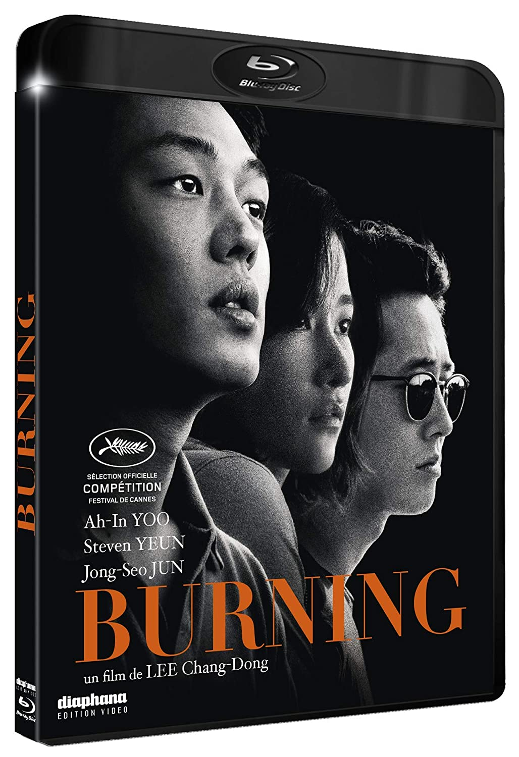 blu-ray du film Burning