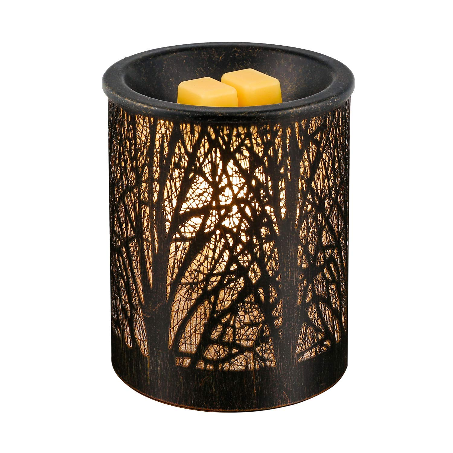 Electric Oil Warmer Wax Burner Incense Oil Warmer Night Light Aroma Decorative Lamp for Gifts & Decor for Home Office Bedroom Living Room