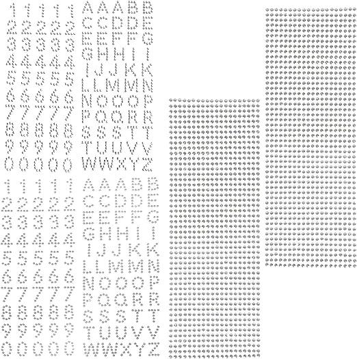12 Hojas Autoadhesivo Adhesivos de Strass Pegatinas de Diamantes de Imitaci/ón Pegatinas de Cristal Gema Para la Decoraci/ón del arte de Bricolaje Decorar las Cajas de Regalo del /álbum