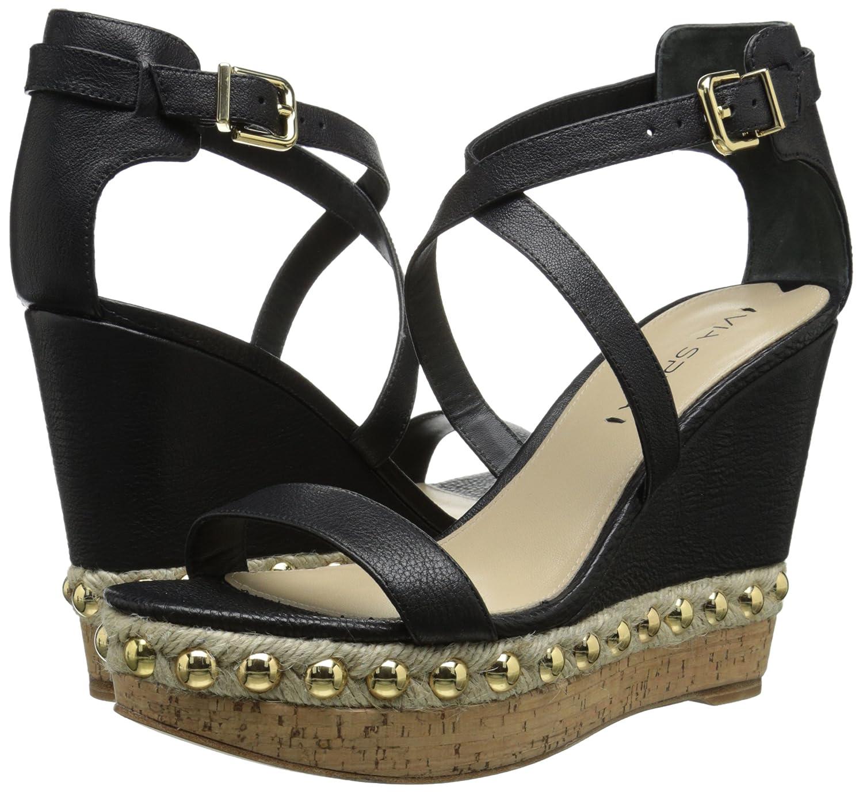 Via Spiga Women's Moss Dress Sandal B00NTDSGLU 11 B(M) US|Black