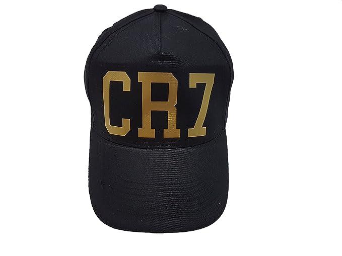 9ea51ad0af SpotApplick Cappello CR7 Cristiano Ronaldo Juve Calcio Scritta Oro ...