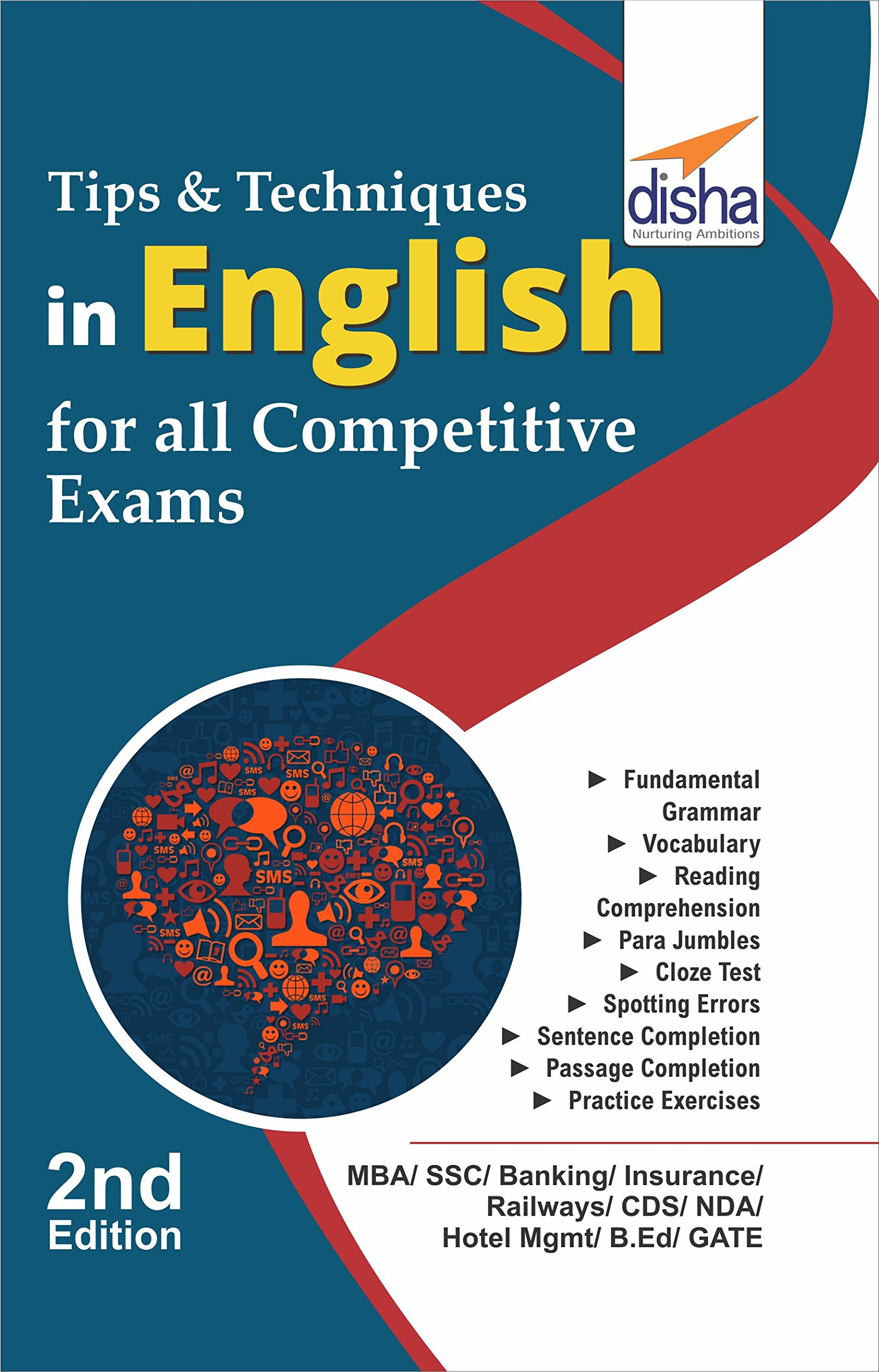Buy Tips & Techniques in English for Competitive Exams Book