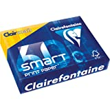 Clairefontaine - Paquete de folios A4 (60 g, 210 x 297 mm, FSC), color blanco