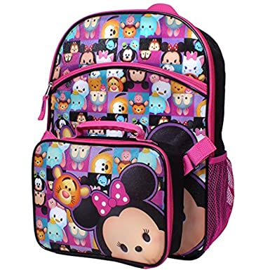 abd9ce5107 Image Unavailable. Image not available for. Color  Disney Tsum Tsum  16 quot  Backpack ...