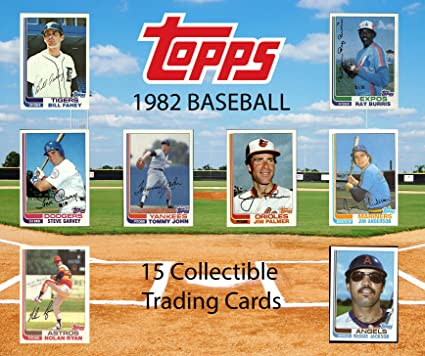Amazoncom 1982 Topps Baseball Mbl Collectible Trading Cards Pack