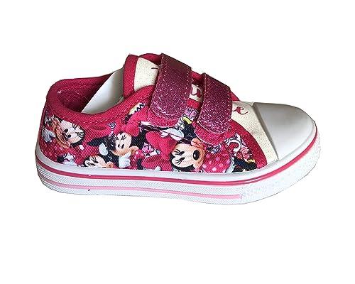 low priced aa647 59211 Disney Minnie Scarpe Bimba con Strappi in Tela Art.S19313 ...