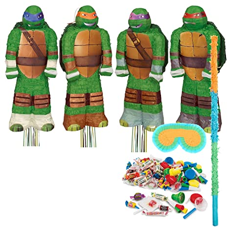 3D Ninja Turtles Pinata Kit (Each) by Costume SuperCenter ...