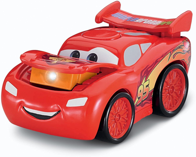 Amazon Com Fisher Price Disney Pixar Cars 2 Lightning Mcqueen Light Toys Games