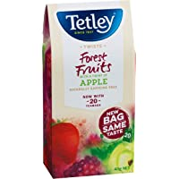 Tetley Forest Fruits with a Touch of Apple Infusion 20 Tea Bags x 5
