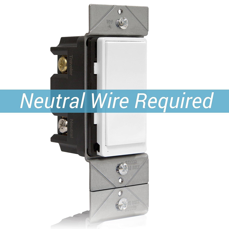Enerwave ZW3k-NEW Add-On Switch, Add-On Switch for Z-Wave Home ...