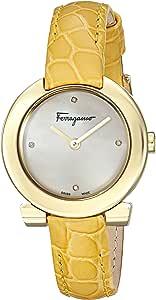 سيلفاتوري فيريجامو ساعة انالوج بعقارب للنساء، جلد - FAP040016