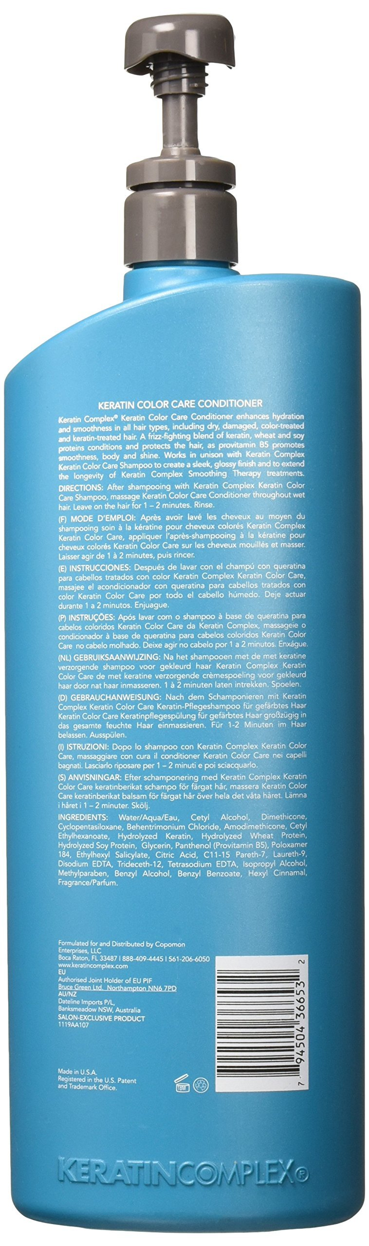 Keratin Complex Color Care Conditioner, 33.8 Oz