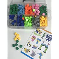 Party Propz Wooden Toys (500 Pcs Blocks)