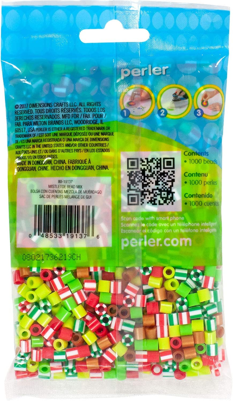 1000 pcs Perler Black Beads for Kids Crafts