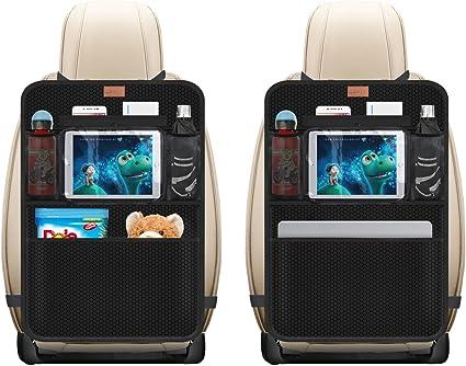 Car Back Seat Organizer Protector E iPad Mini Holder Bag Tasche Portaoggetti Organizer per Bambini Toy Bottle Drink Veicoli Accessori da Viaggio