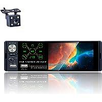 TOYOUSONIC Radio del Coche 1 DIN 4.1 Pulgadas Pantalla Táctil Autoradio Bluetooth Llamadas Manos Libres MP5 FM/Am/con…