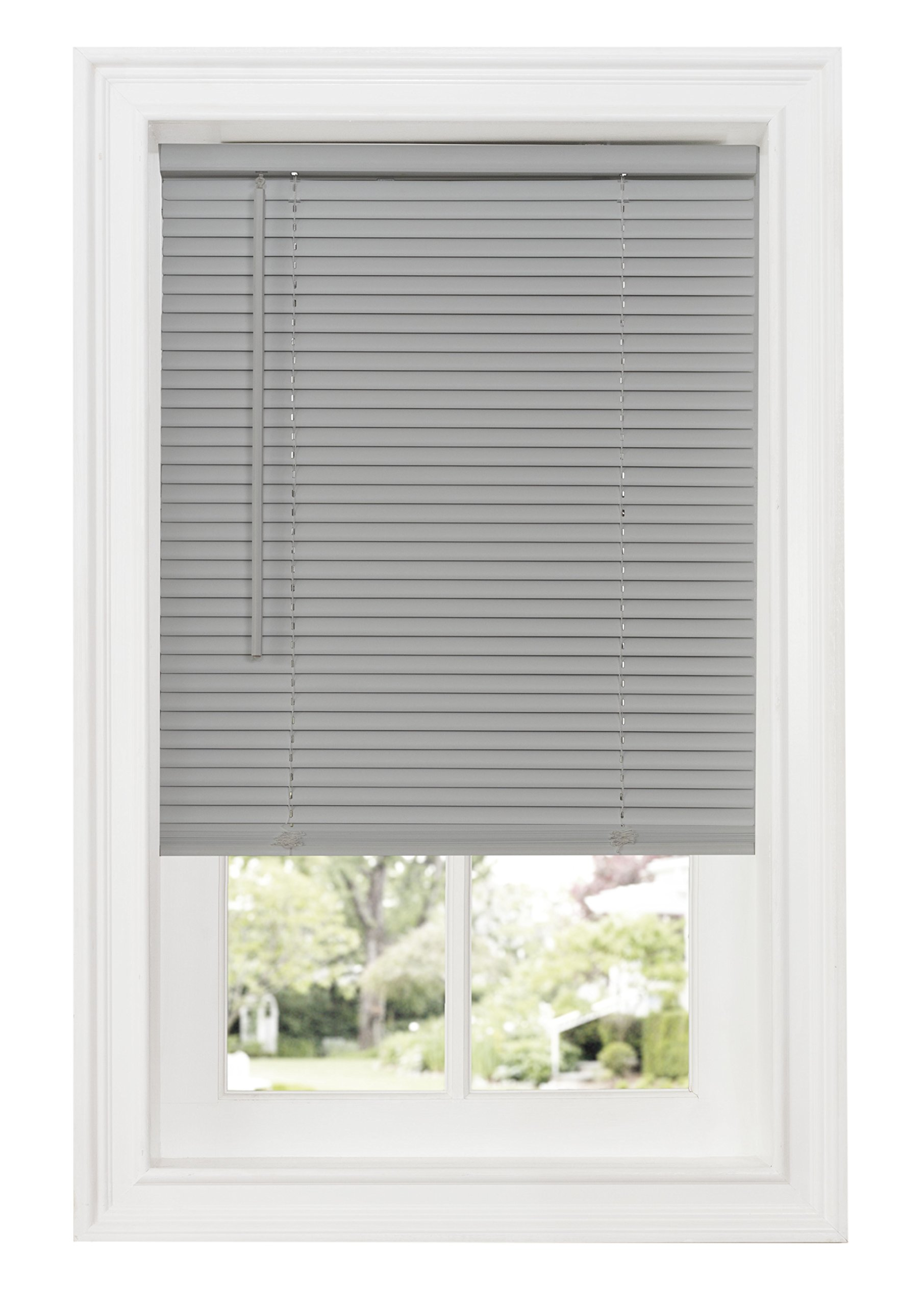 Ben & Jonah Ben&Jonah Cordless GII Deluxe Sundown 1'' Room Darkening Mini Blind 27x64-Grey Collection, Multicolor by Ben & Jonah