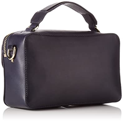 e5be818c665a3 Tommy Hilfiger Damen Fashion Hardware Leather Mini X Over Stofftasche
