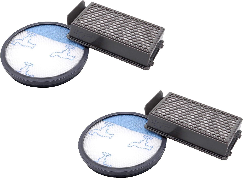 vhbw Set de 2x filtros de aspiradoras compatibles con Rowenta Compact Power Cyclonic -Reemplaza Rowenta ZR005901: Amazon.es: Hogar