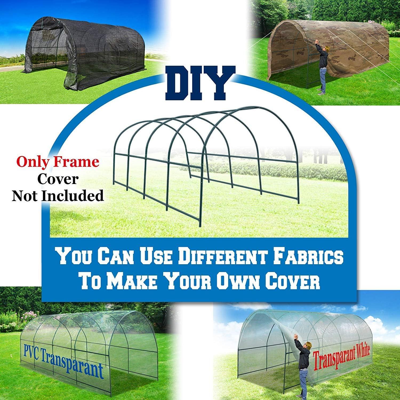 BenefitUSA Multiple Size Greenhouse Frame 10x7x6