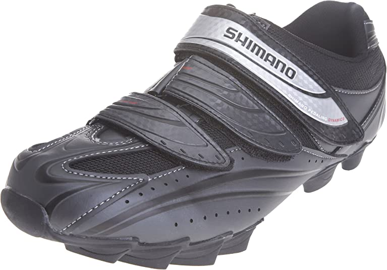 Shimano Mens SH-M077 Dark Grey Cycling Shoe BM07743 8 UK: Amazon ...