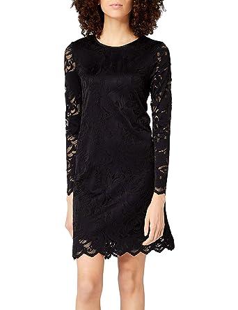 2a3dcb682c9c0 Vila Vistasia L S Lace A-Shape Dress-Noos
