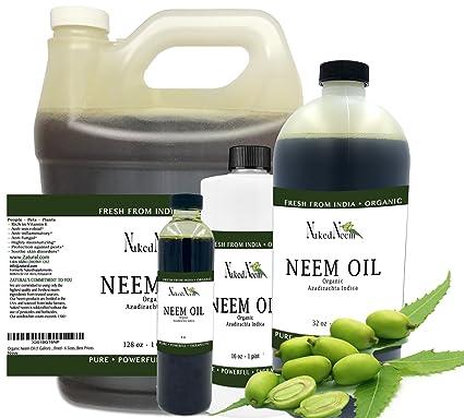 Naked Neem Aceite de semilla de Neem (tambor de 55 galones)