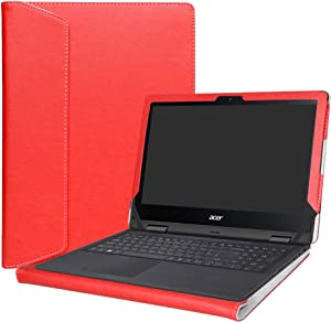 "Alapmk Protective Case Cover for 11.6"" Acer Spin 1 11 SP111-32N Series Laptop(Warning:Not fit Spin 1 SP111-31 SP111-31N SP113-31 Series),Red"
