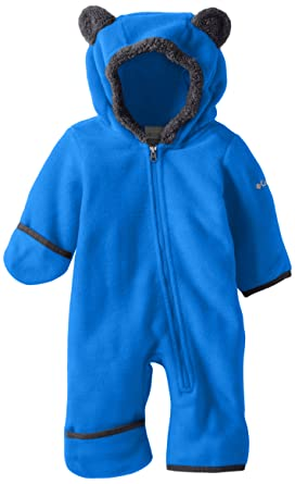 Baby Jackets 6 Months Columbia Baby Tiny Bear II Bunting, Super Blue, 3-6 Months