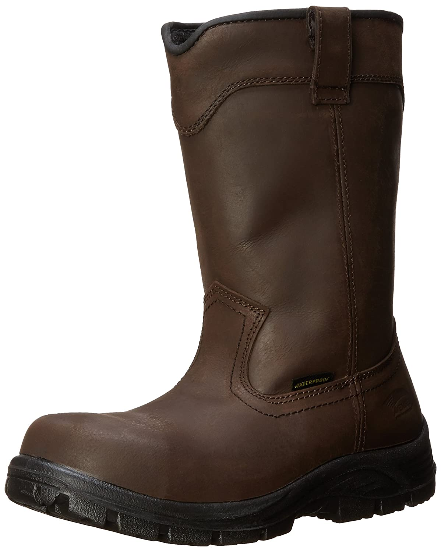 Avenger Safety Footwear メンズ B00JXFSY24 13 2E US|ブラウン ブラウン 13 2E US