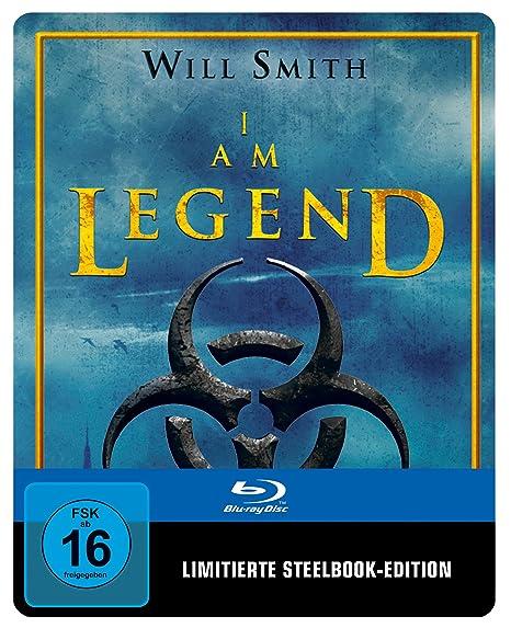 I am Legend Steelbook (exklusiv bei Amazon.de) [Blu-ray] [Limited Edition]
