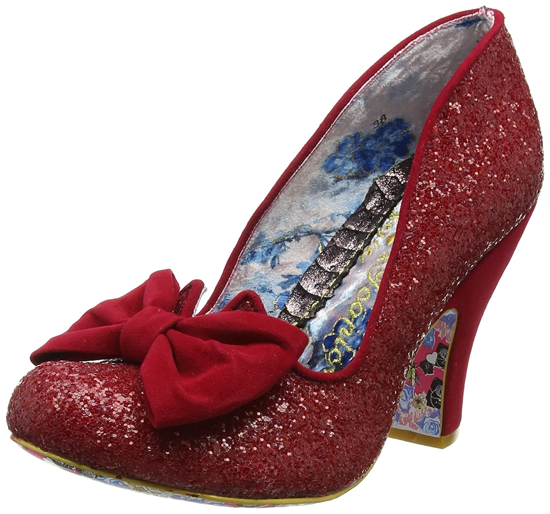 Irregular Choice Nick Of Time Womens Shoes B0758HX6BW 36 M EU|Red
