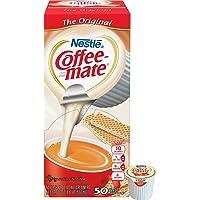Nestle 35110 Coffee-Mate Original Flavor Creamer, Single Serve Portions, 50/Box