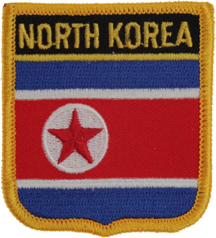 Yantec Wappenpatch Nord Korea Aufn/äher