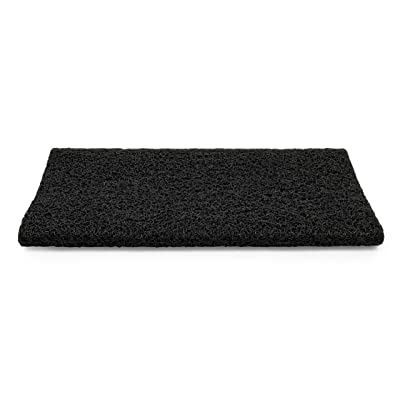 "Camco 42962 Black Premium Wrap Around RV Step Rug (PVC Material (17.5"" x 18"")): Automotive"