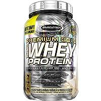 MuscleTech Pro Series Premium Gold Whey Protein, Protein Powder, Vanilla, 2 Pound