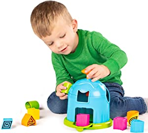 Fat Brain Toys Shape Factory Early Learning Toys for Ages 2 to 3