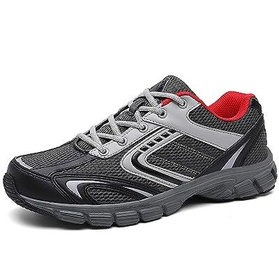 Mishansha Mens Athletic Running Shoes Non Slip Gym Trail Walking Jogging Fashion Sneakers | Trail Running