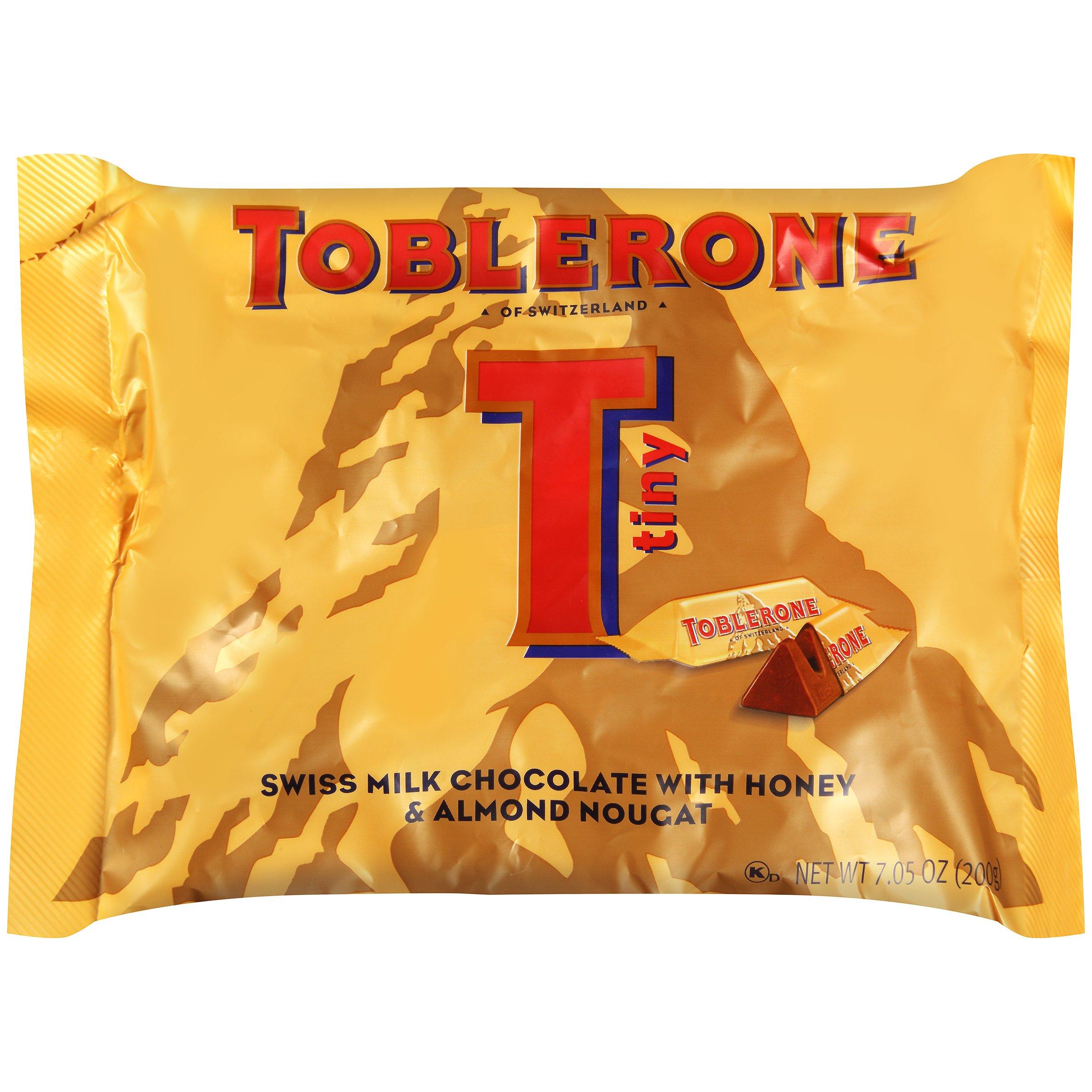 Toblerone Tiny Swiss Milk Chocolate Bars 706 Oz