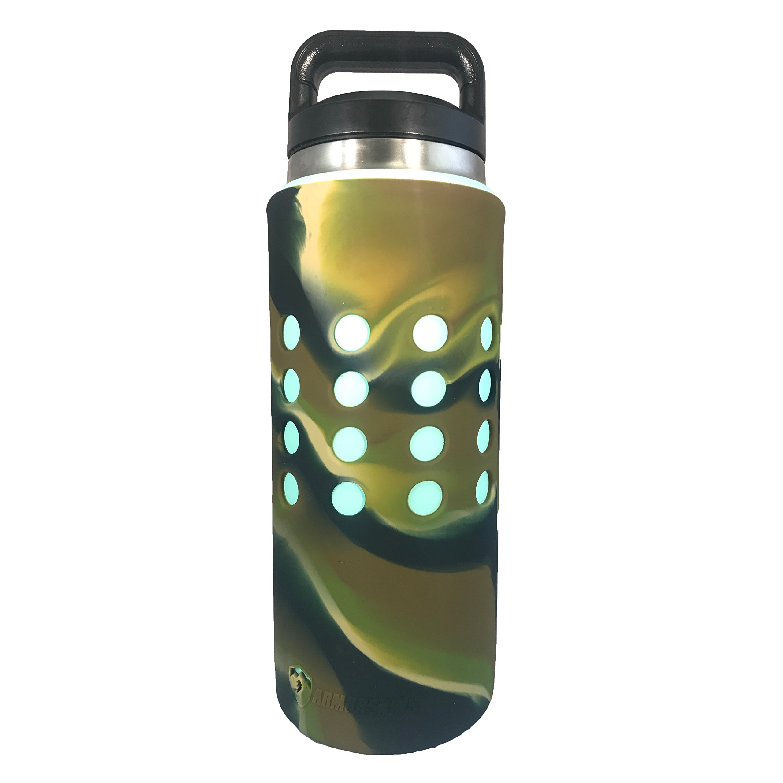 ARMORSKINS Rambler/Bottle Silicone Skin (26oz Camo)
