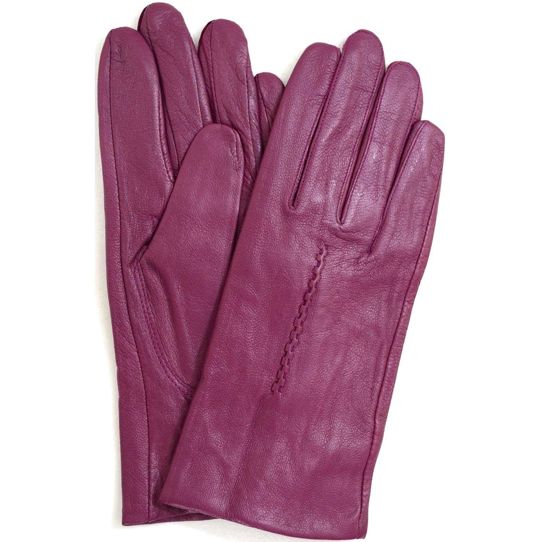 Fiona J Elegante Damen Lederhandschuhe Fingerhandschuhe gef/üttert Farbauswahl