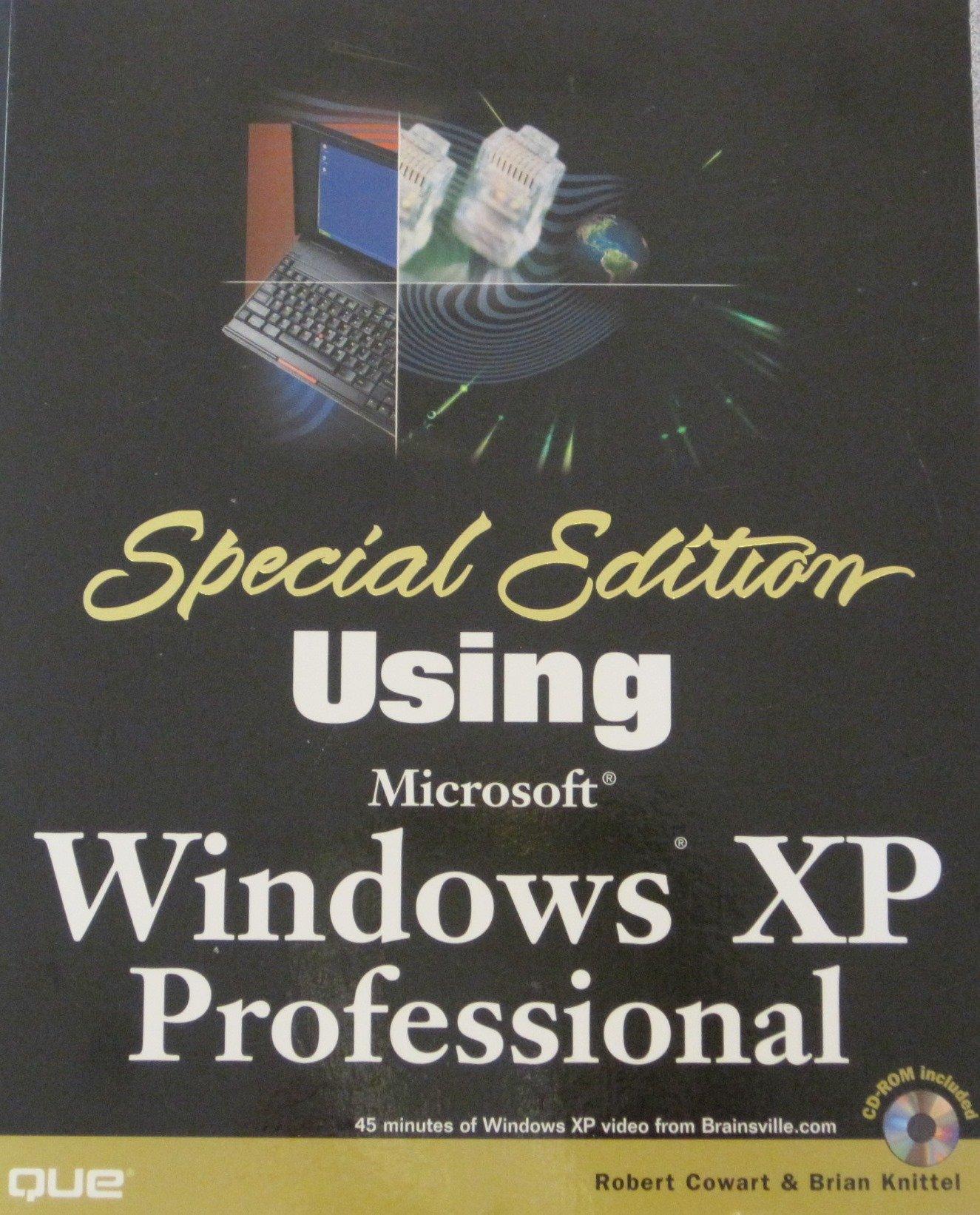 Download Special Edition Using Windows XP Professional pdf epub