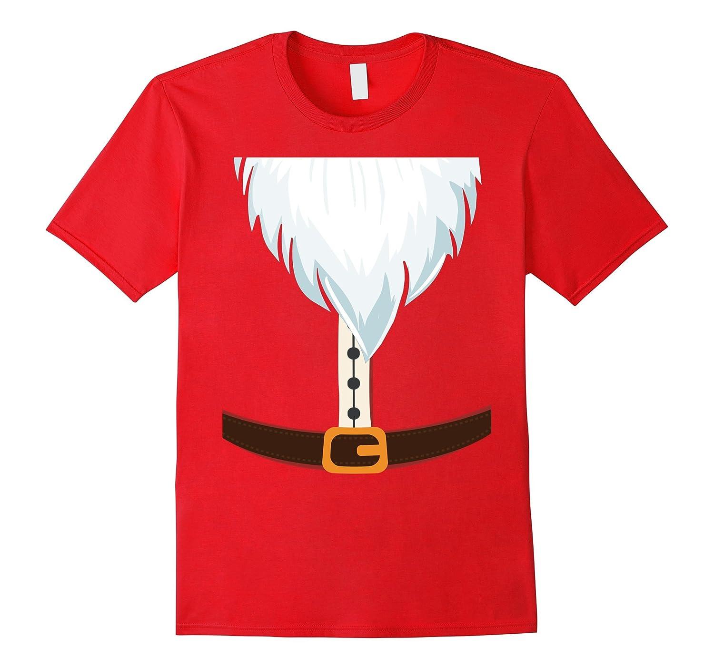 Santa Claus Costume Santa Suit Christmas Funny Xmas Tee