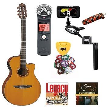 Yamaha ntx700 Thinline Cutaway Guitarra Clásica eléctrica, parte ...