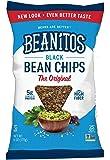 Beanitos Black Bean Chips with Sea Salt, 6 Ounce