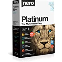 Nero Platinum 2019 Box|Platinum|1|One time|PC|Disc